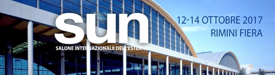 SUN rimini Salone internazionale dell'esterno 12-14 ottobre
