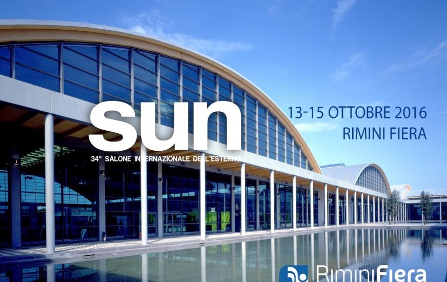 SUN rimini Salone internazionale dell'esterno 13-15 ottobre